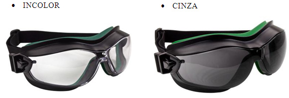 a132db5b5b34a Óculos Ampla Visão Helix