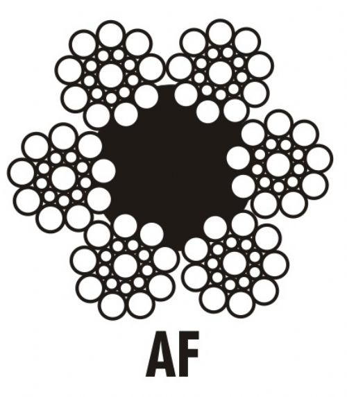 Cabo de Aço 6 x 19 SEALE | AF Galvanizado