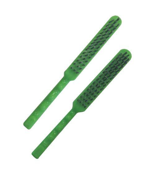 Escova Manual Cabo Plástico - Aço Inox