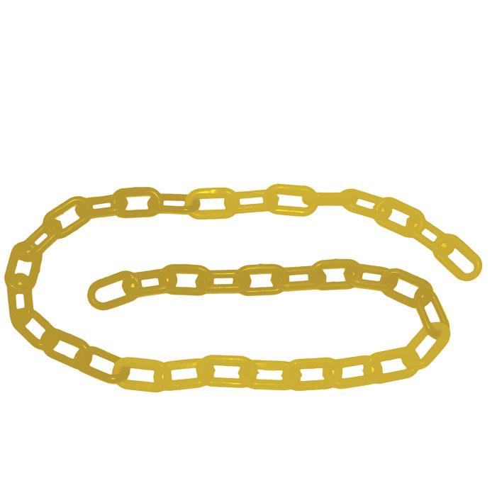 Corrente Plástica Amarela