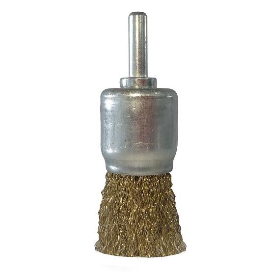 Escova de Aço Pincel Ondulada