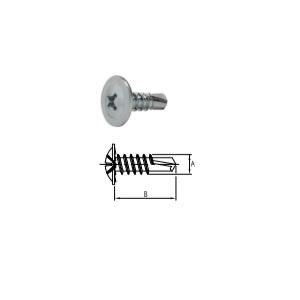 Parafuso Drywall Auto Brocante com Cabeça Flangeada PHS