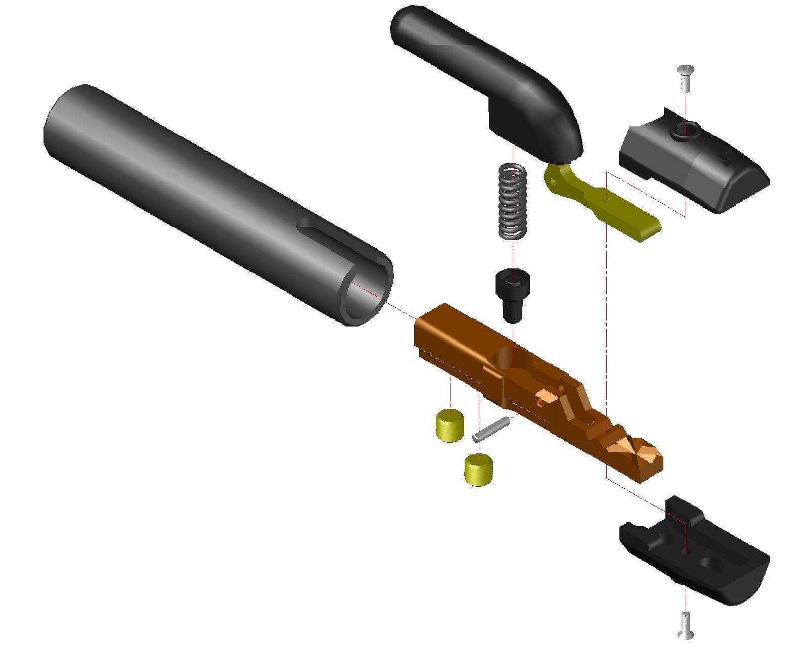 Peças de Reposição Porta Eletrodos Linha S
