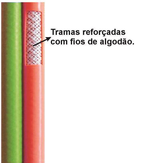 "Mangueira de Solda Dupla 5/16"""
