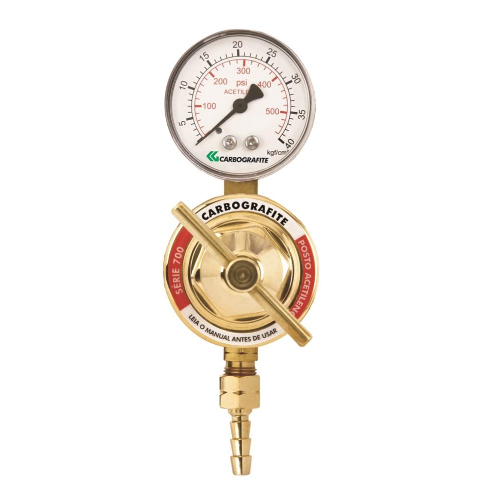 Regulador de Pressão Acetileno - para Posto | Série 700