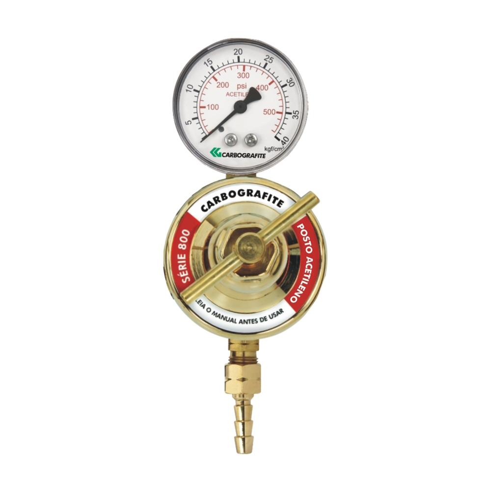 Regulador de Pressão Acetileno - para Posto | Série 800