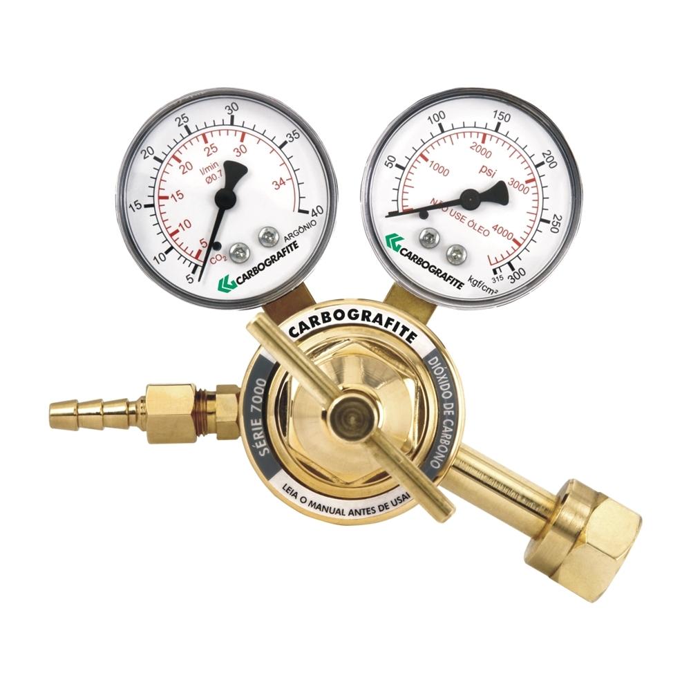 Regulador de Pressão CO2 - Cilindro | Série 700