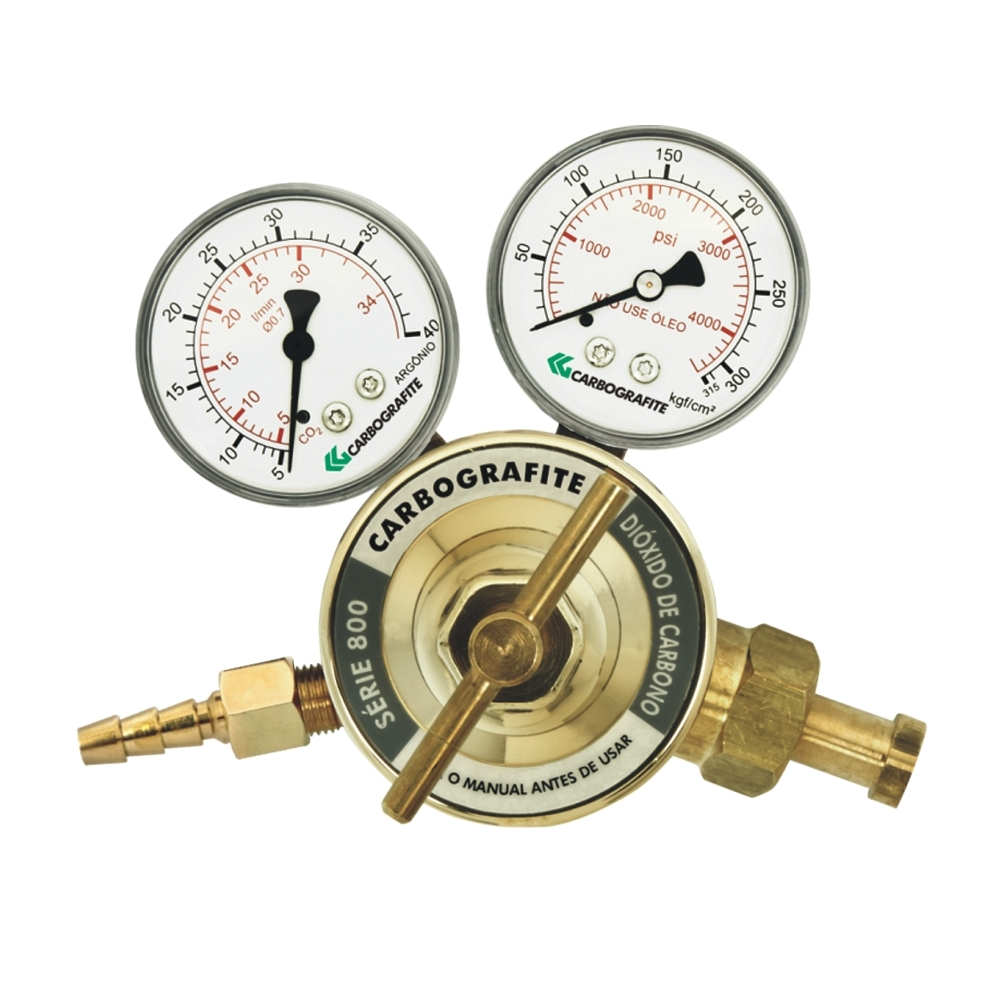 Regulador de Pressão CO2 - Cilindro | Série 800