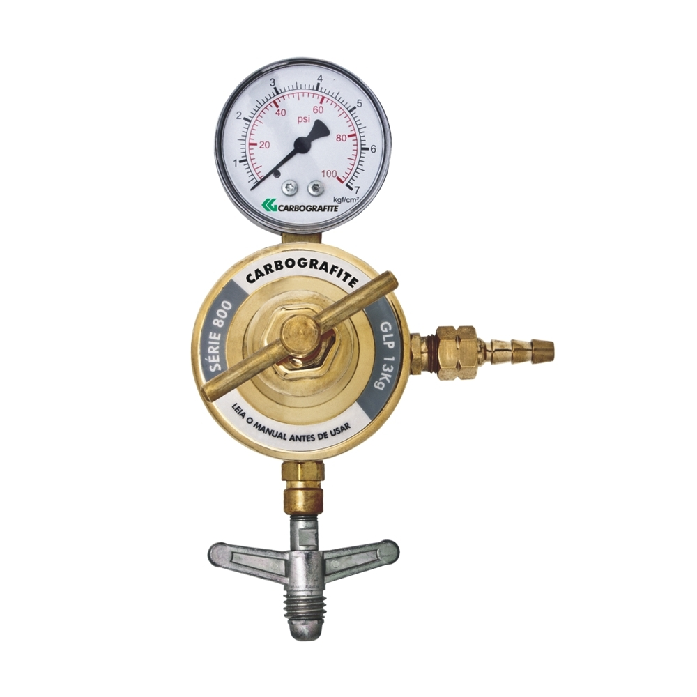 Regulador de Pressão GLP 13kg - Cilindro | Série 800