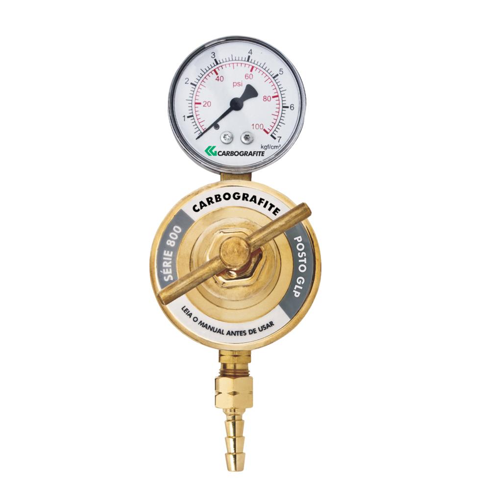 Regulador de Pressão GLP/GN - para Posto | Série 800