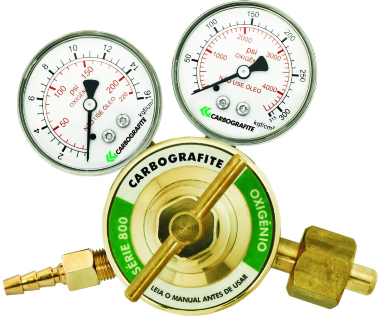 Regulador de Pressão Oxigênio - Cilindro | Série 800