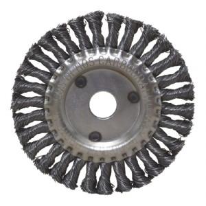 Escova de Aço Inox Circular Trançada