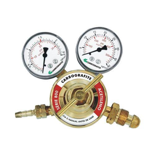 Regulador de Pressão Acetileno - Cilindro | Série 800