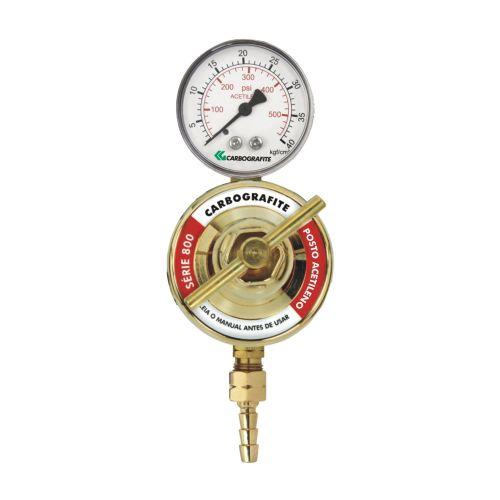 Regulador de Pressão Acetileno - para Posto   Série 800