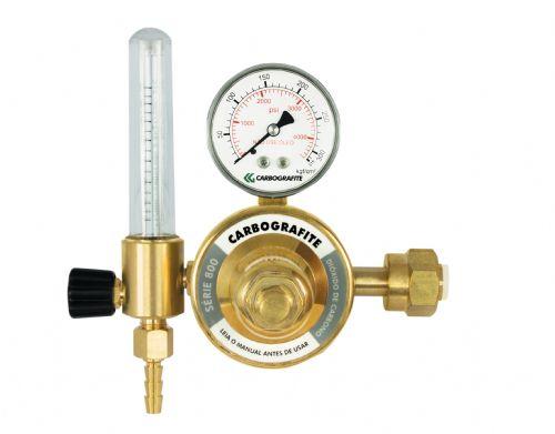 Regulador de Pressão CO2 com Fluxômetro - Cilindro | Série 800